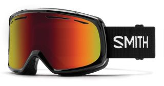 Antiparra Nieve Smith DRIFT Black Red Sol-X Mirror Negro