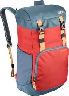 Mochila Notebook EVOC Mission Chili Red-Slate 22 L Rojo
